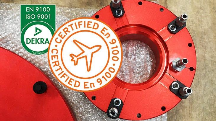 Le Pratique en Sarthe est certifié DEKRA EN 9100 ISO 9001