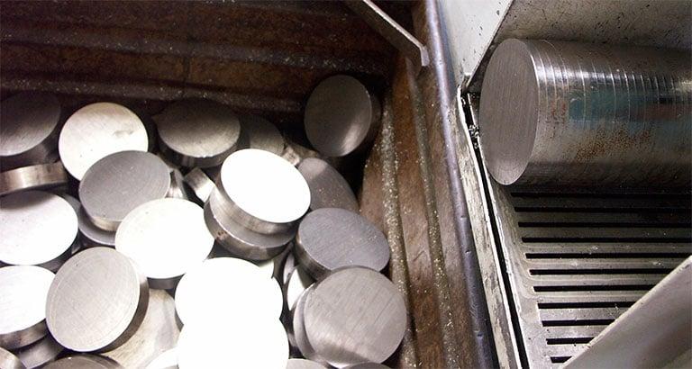 Débit métaux et plastique