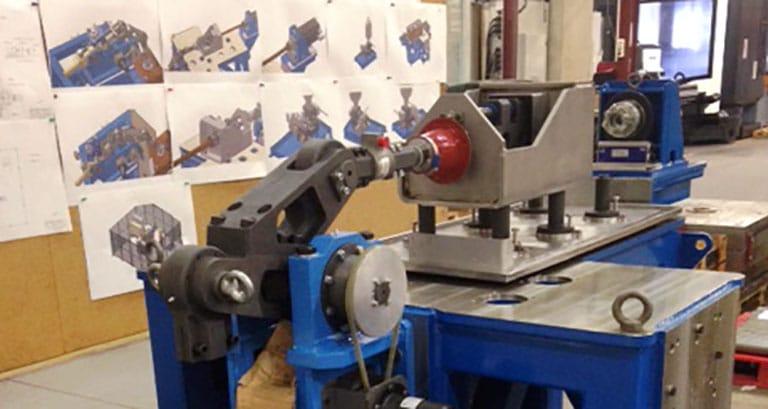 Usinage montage banc test
